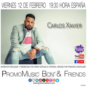 Carlos Xavier en PromoMusic Bcn & Friends