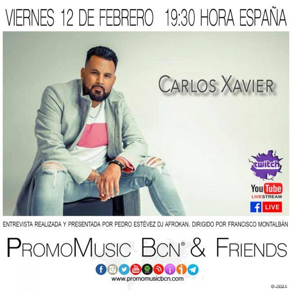 Carlos Xavier en PromoMusic Bcn & Friends