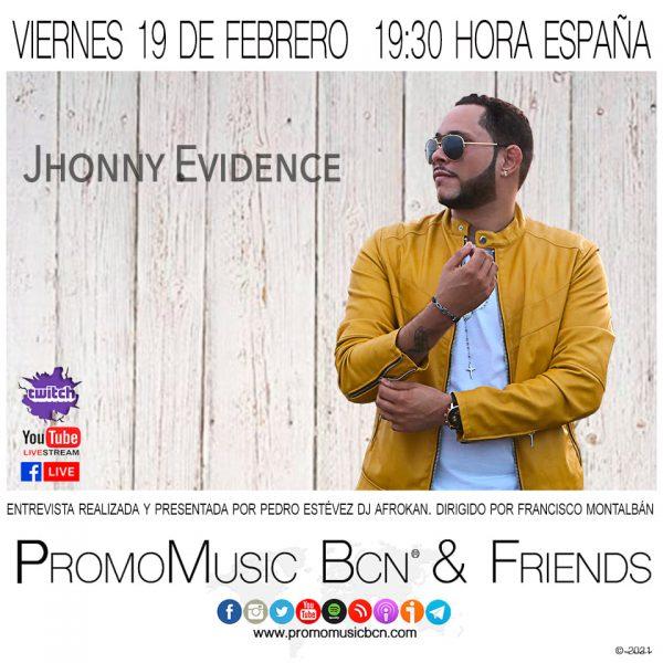 Jhonny Evidence en PromoMusic Bcn & Friends