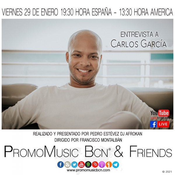 Carlos García en PromoMusic Bcn & Friends
