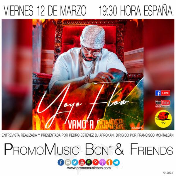 YoYo Flow en PromoMusic Bcn & Friends