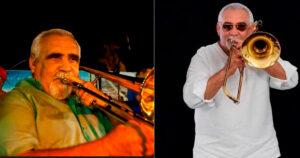 Conocido como el Trombón Matancero, Hugo Morejón lideraba los vientos en la popular agrupación cubana. Su talento y amplia trayectoria hizo que se ganara el respeto de sus colegas y de los seguidores de Los Van Van.