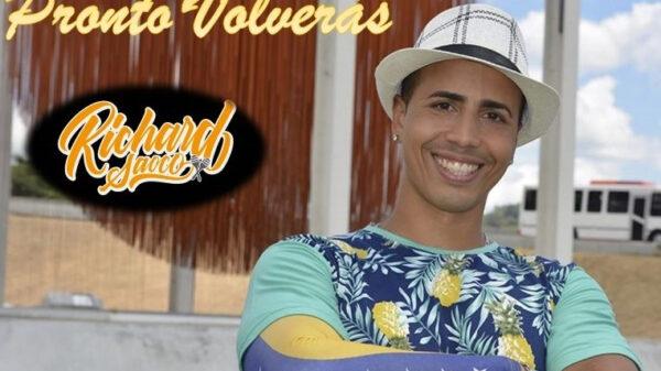 """El salsero venezolano Richard Saoco acaba de lanzar su nuevo sencillo titulado """"Pronto Volverás""""."""