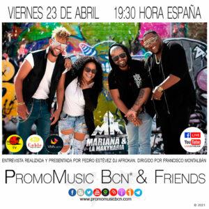 Mariana & La Makynaria en PromoMusic Bcn & Friends